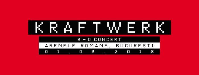 Kraftwerk 3-D live concert in Bucuresti