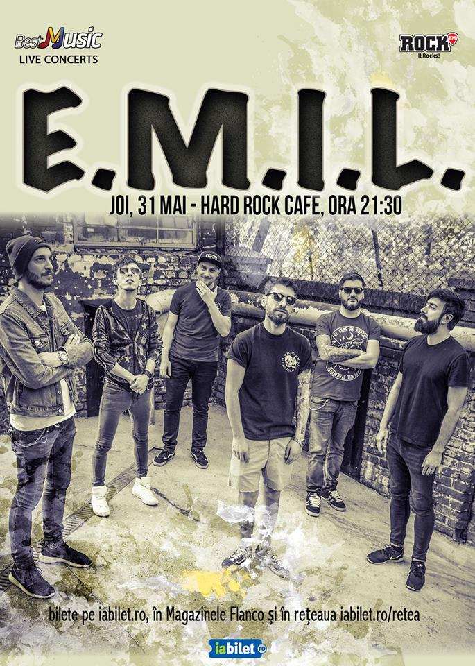 E M I L, 31 mai, Hard Rock Cafe